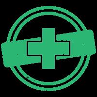 Кръст (зелено)