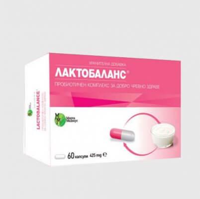 Лактобаланс пробиотик от Мирта