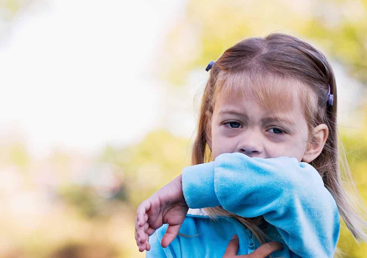 Възпалени горни дихателни пътища при деца