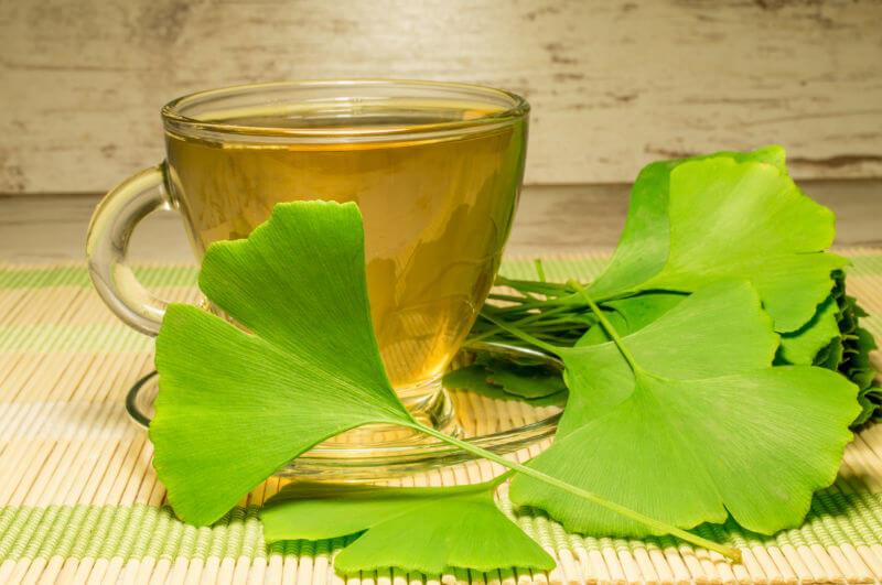 Гинко Билоба - Чай и листа