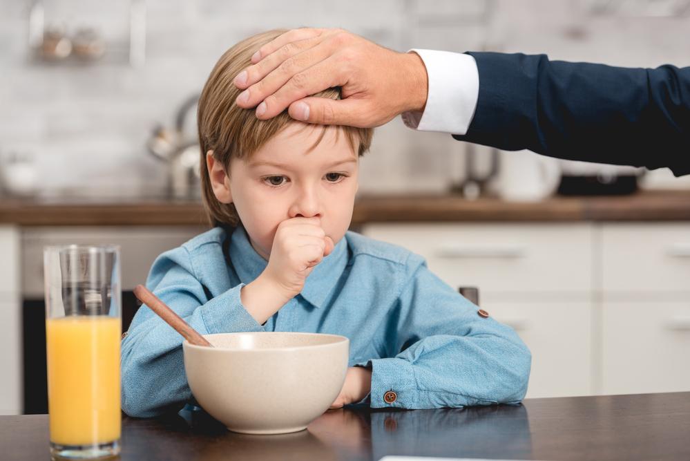 Суха кашлица - дете с кашлица и температура