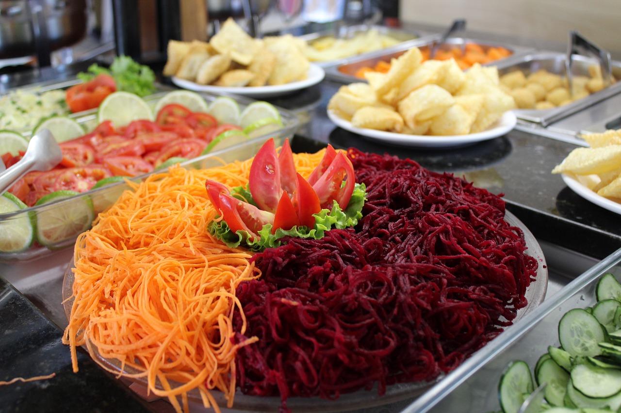На снимката: салата от цвекло и моркови за борба с грипа