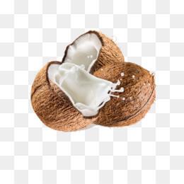 Кокосово мляко от разчупен кокосов орех