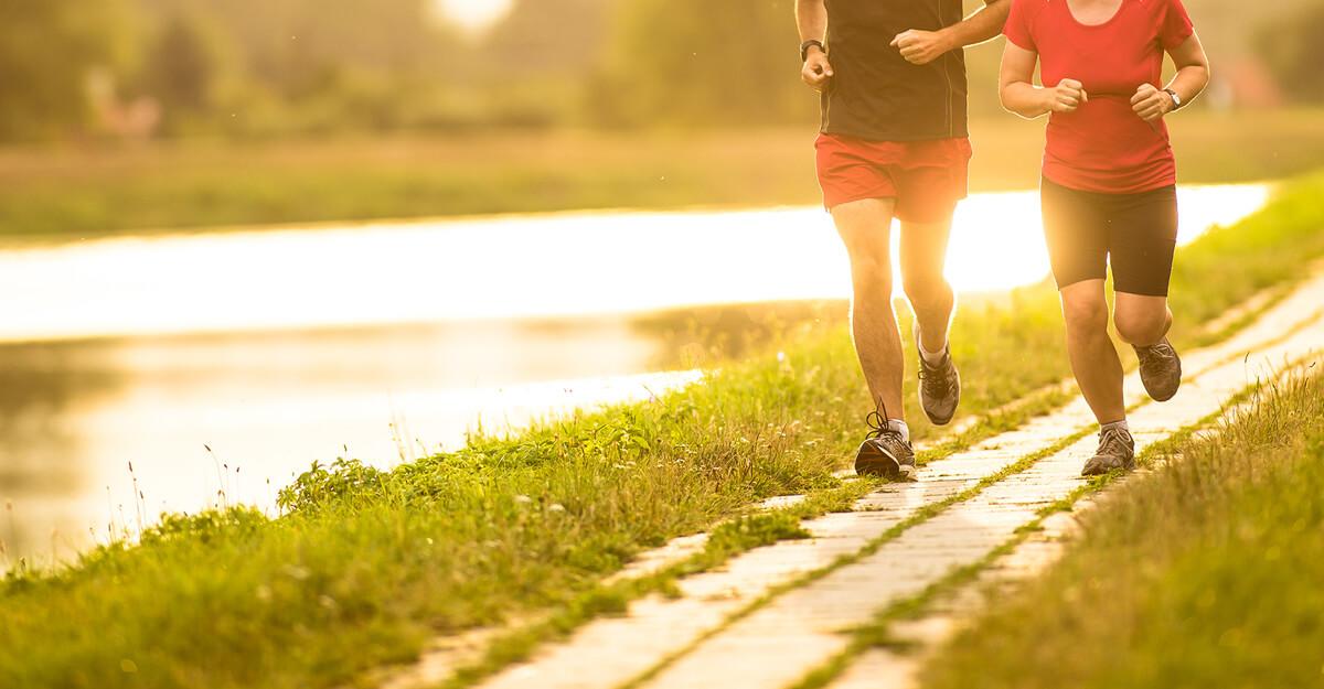 Спорт сред природата спомага за бързо възстановяване след прехранване.