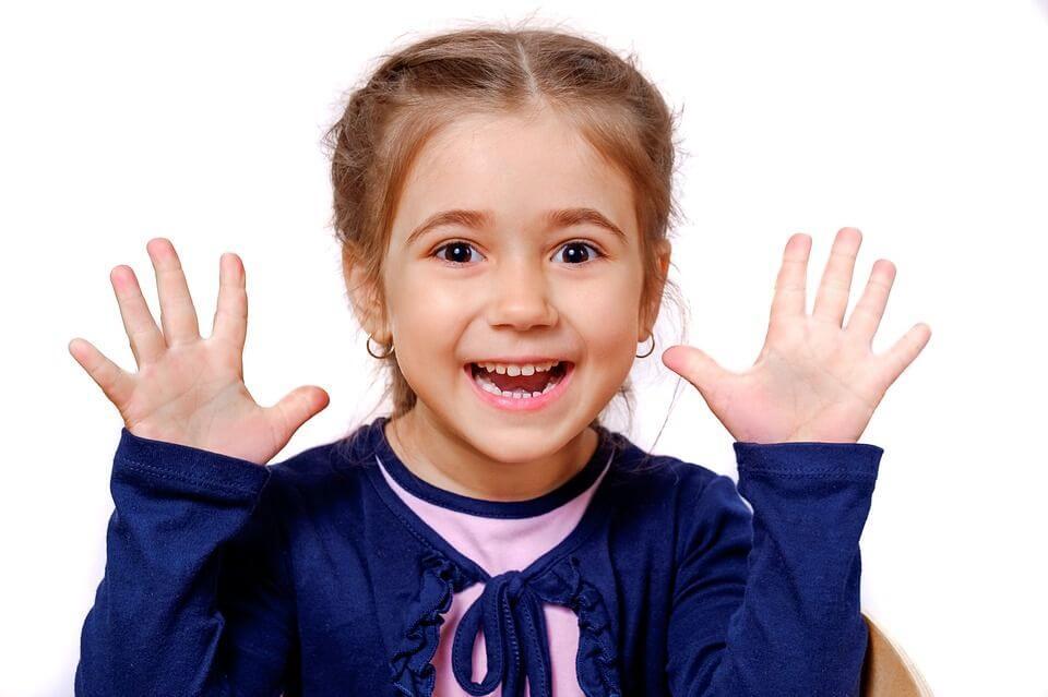 Здравите деца се чувстват щастливи и са винаги усмихнати и готови за игри.
