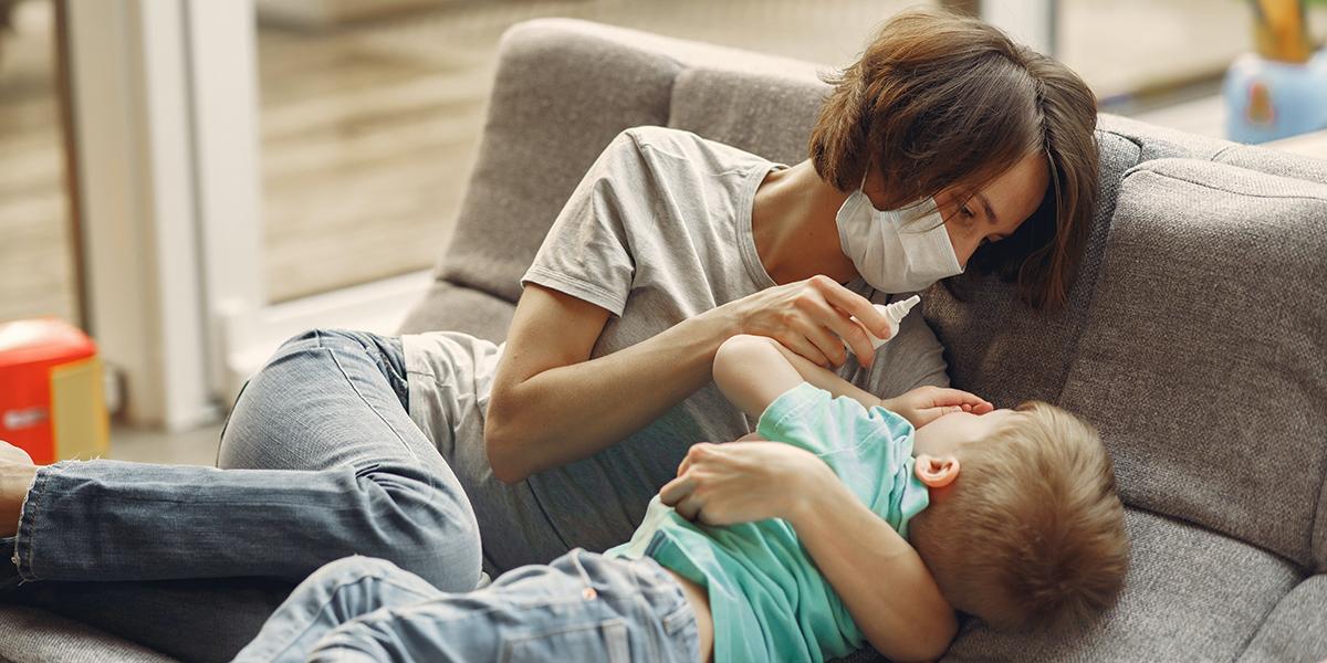 Използвайте физиологичен разтвор за нос