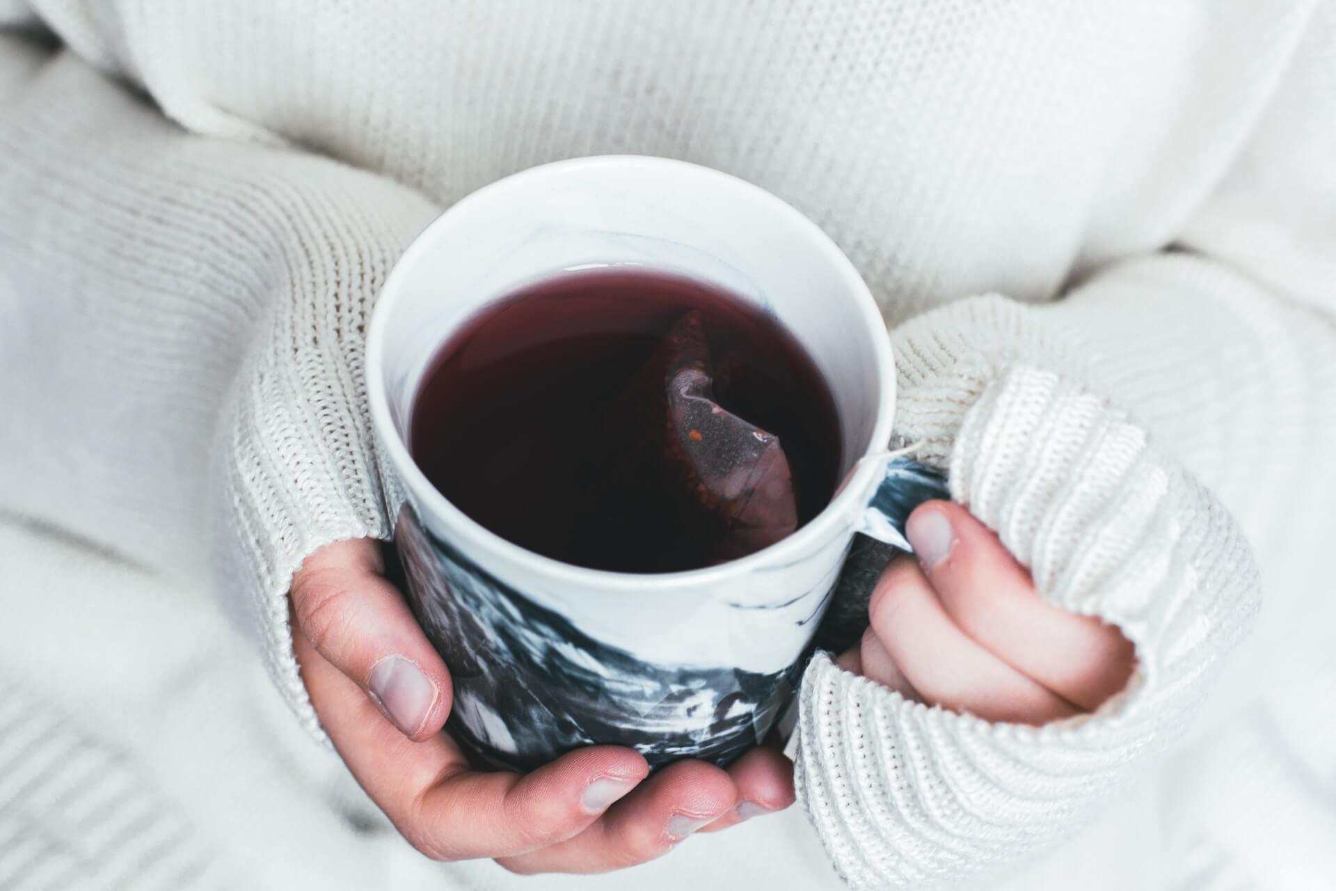 топъл чай