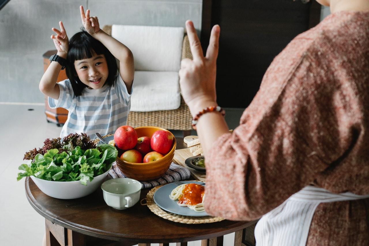 здравословна храна дете