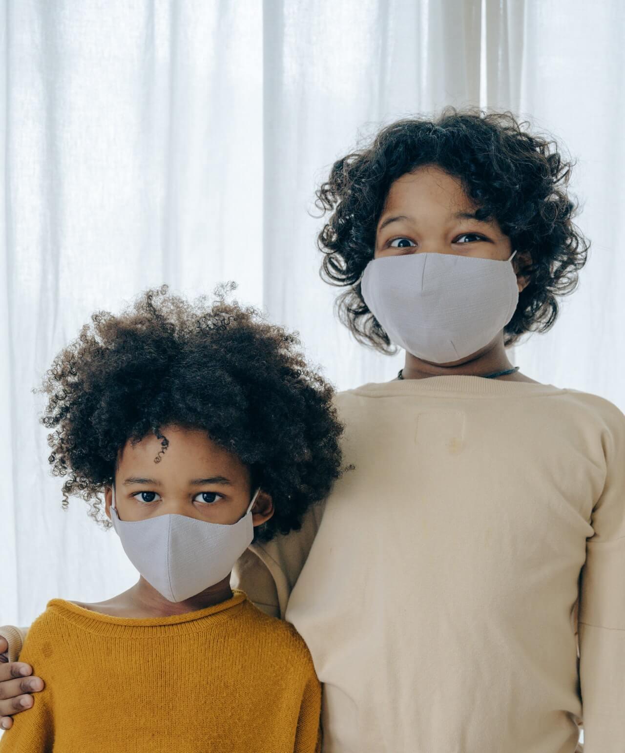 деца с маски