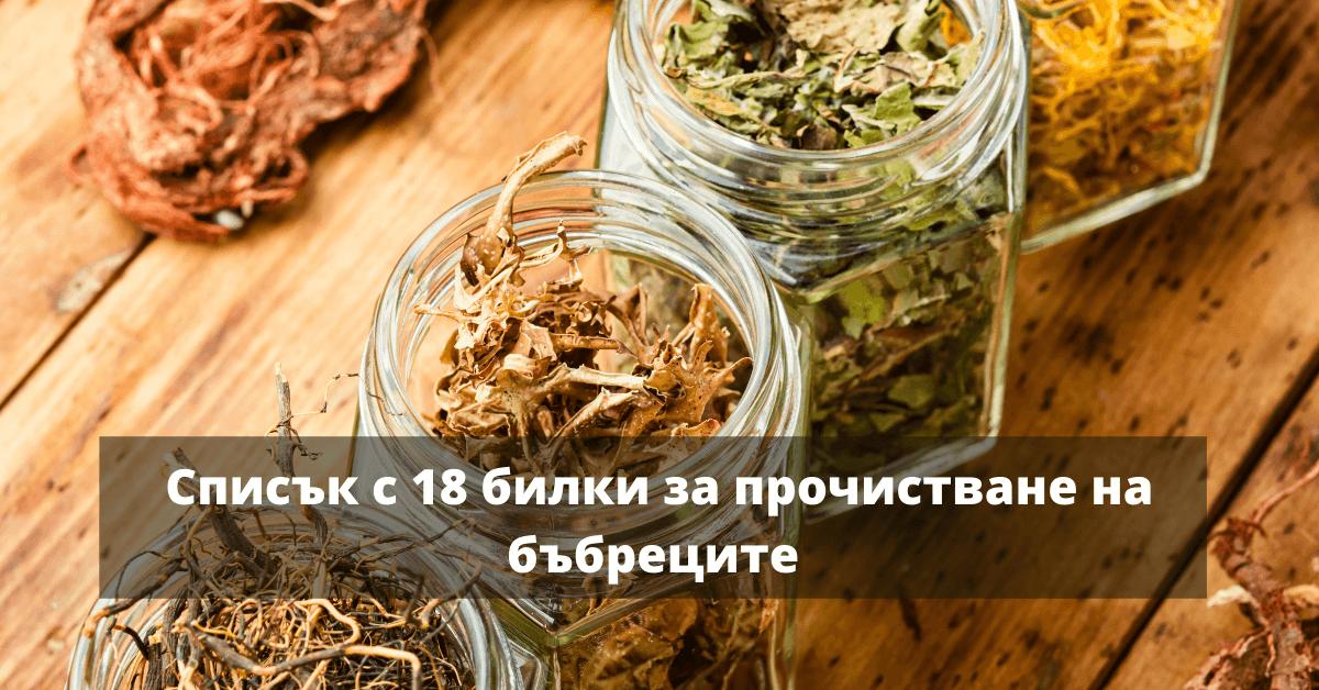 18 билки за бъбреците